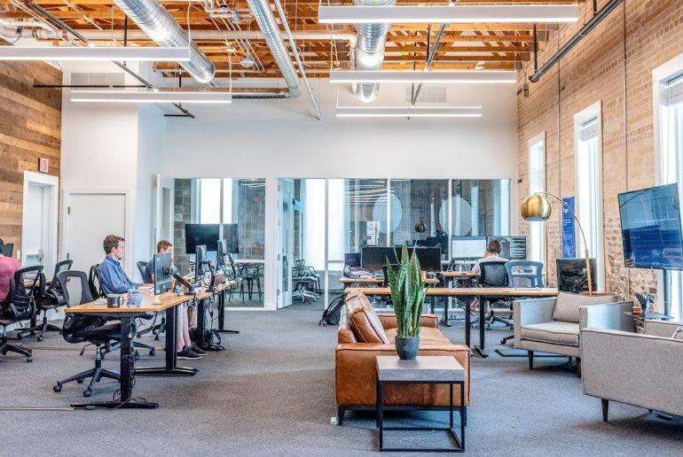 Bureau de PME vide
